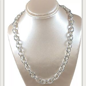 COPY - Judith Ripka sterling silver necklace with